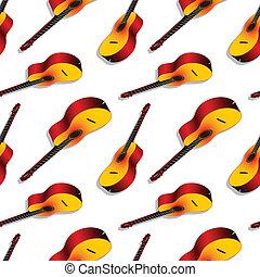 classic guitars pattern