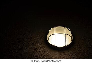 Classic hanging lamp