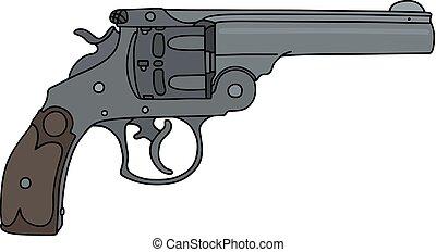 Classic heavy revolver