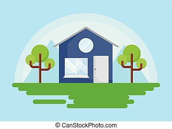 classic house icon
