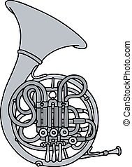 Classic hunting horn