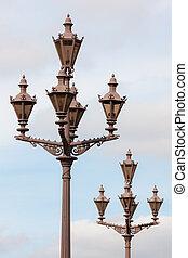 classic lanterns close up
