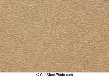 Classic leather texture in perfective beige colour.