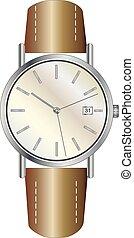 Classic luxury mechanic watches vector eps 10