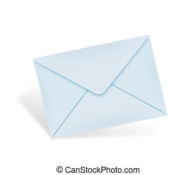 Classic mail concept - Brown envelope, concept of...