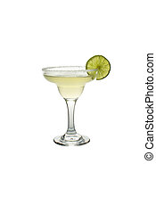 Classic Margarita with Lime and Salt