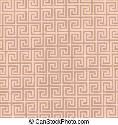 Classic meander seamless pattern. Greek key neutral tileable...