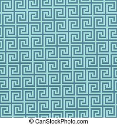 Classic meander seamless pattern. Greek key neutal tileable...