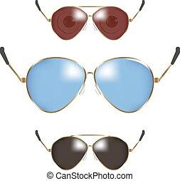Classic men police sunglasses