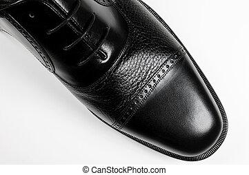 Classic men\\\'s black shoe - Classic man\\\'s black shoe -...