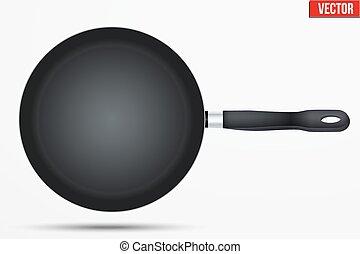 Classic Metal black non-stick frying pan