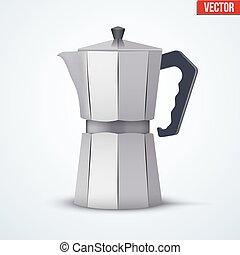 Classic Metal Coffee maker