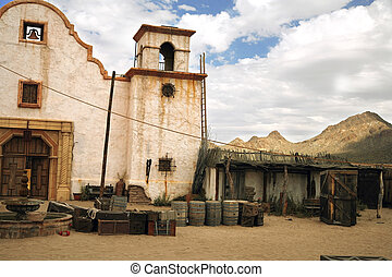 classic Mexican rural old style