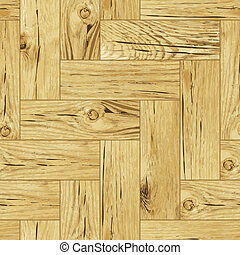 Classic parquet flooring - seamless vector texture - Classic...