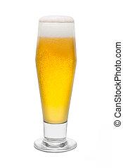 Classic Pilsner Beer, with Foam Head #1