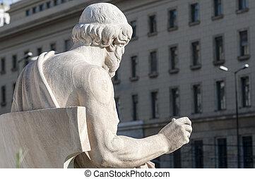 classic Plato statue - classic statues Plato in athens