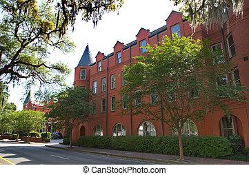 Classic Red Brick Hotel