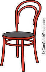 Classic red chair