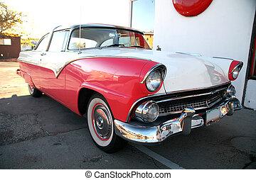 classic retro america car
