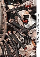 Classic Rotary Aircraft Engine