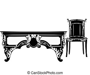 Classic royal chair