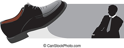 Classic shoes for businessman