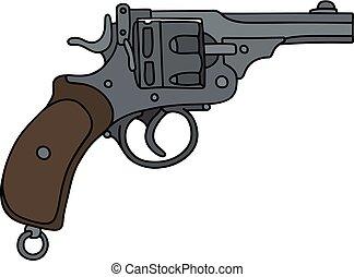 Classic short revolver