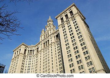 Classic Skyscraper in New York City