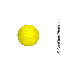Ball. Isolated on white background.