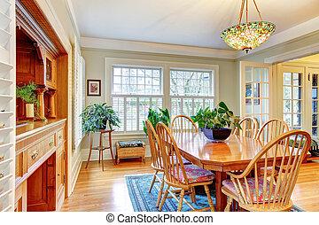 classic style big living room