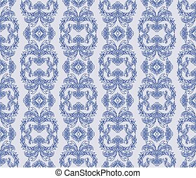 Classic style ornament damask