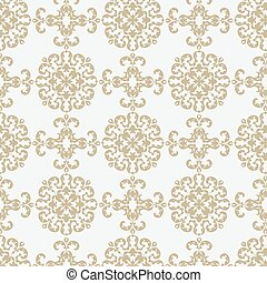 Classic style ornament pattern
