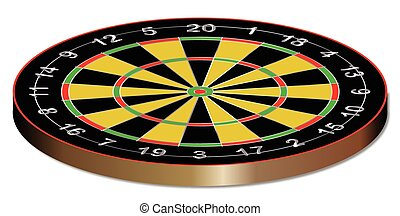 Classic Typical Darts Board