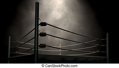 Classic Vintage Boxing Ring - An old vintage boxing ring...