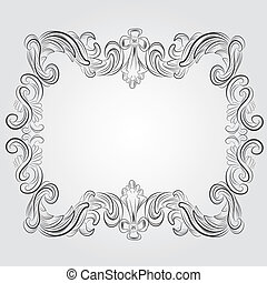 classic vintage victorian frame