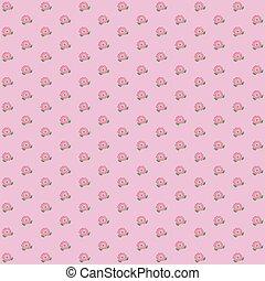 Wallpaper seamless vintage pink flower pattern on brown background classic wallpaper vintage flower pattern on pink background mightylinksfo