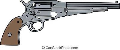 Classic wild west handgun