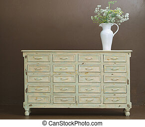Classic wooden dresser - Hand crafted classic wooden dresser