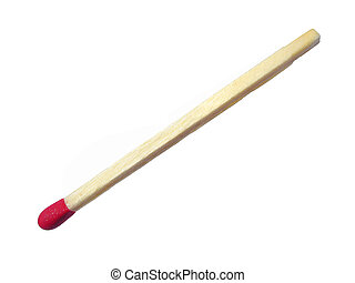 Red Head Match - Classic Wooden Red Head Match