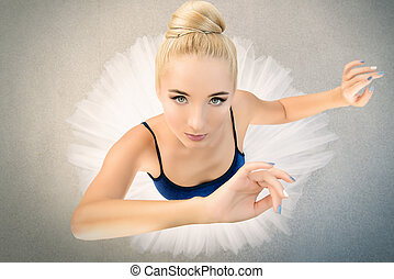 classical ballet dancer