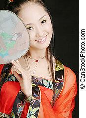 Classical Beauty - asian model