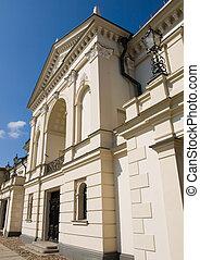 Classical building