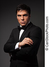 Classical business male portrait