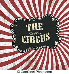 Classical circus background, vector, eps10