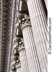Classical Colonnade Detail