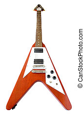 \'\'Flying V\'\' Guitar