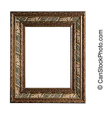 classical framing - isolated on white background for your...