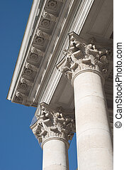 Columns at the National Theater in Munich