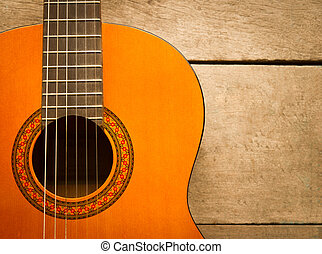 classical guitar - acoustic classical guitar with strings