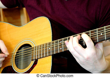 Classical guitarist.